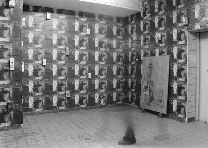 Jürgen Schneider: Her mit den Milchtüten! (Installation)