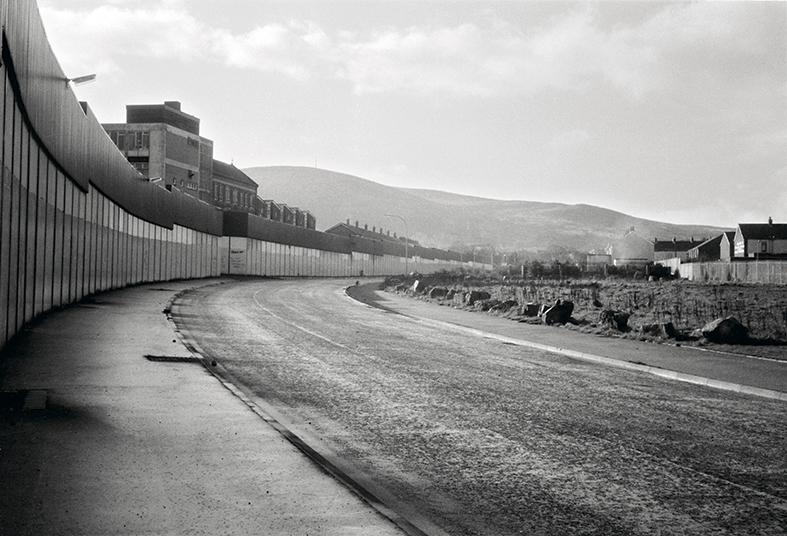 Jürgen Schneider, Mauer West-Belfast, 1990